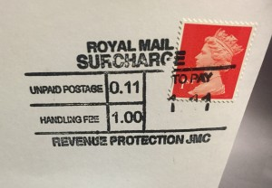 Royal Mail Surcharge